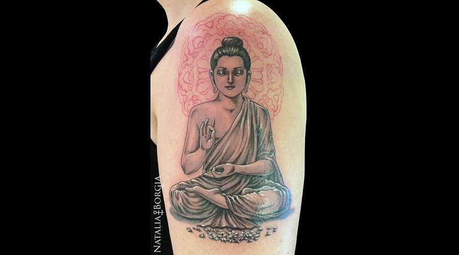 Buddha  Buddhist  Mandala  Halo  Zen  New Wave  Meditation Arm