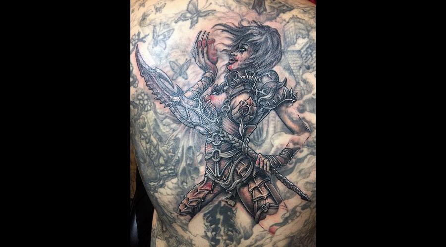 Warrior's Heart Color Back