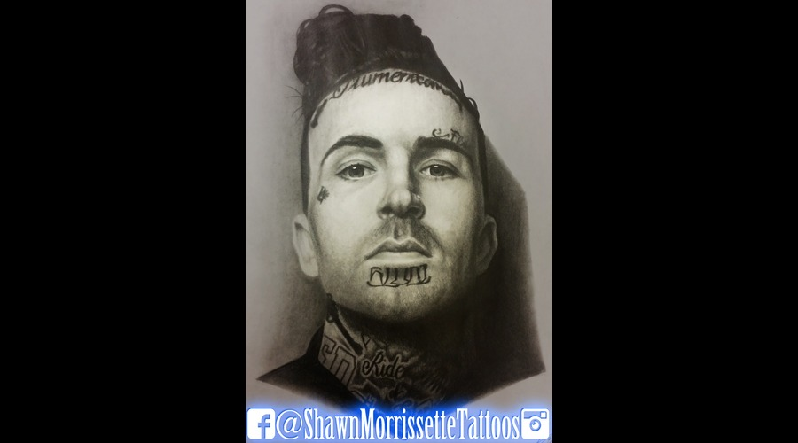 Pencil Portrait Of Yelawolf