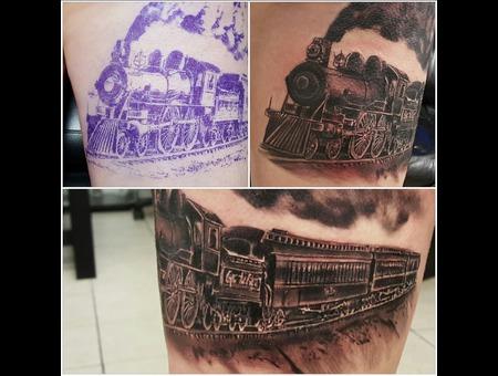 Trains  Locomotive Thigh