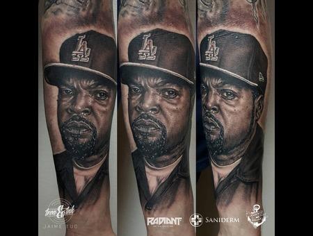 Ice Cube  Portrait Forearm
