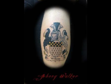 Tattoo  Crest  Family  Man  Leg   Lower Leg