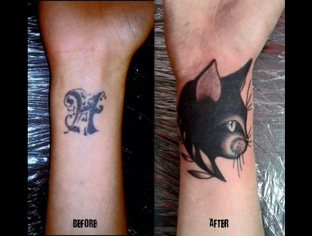 Cat  Cover Up Forearm