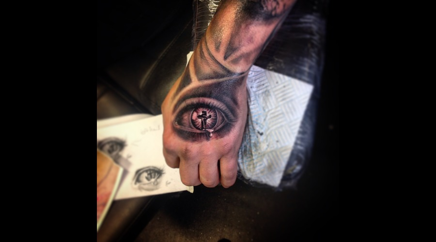 Eye  Cross Forearm