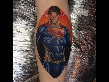 Superman Lower Leg