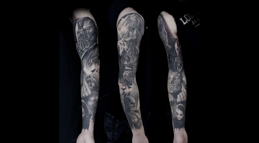 Dark Knight Sleeve Arm
