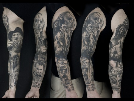 Bad Guys Sleeve Arm