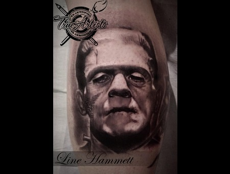 Frankenstein  Portrait Lower Leg