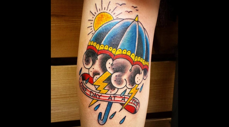Tattoo  Oldschool  Umbrella