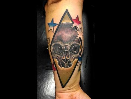 Tattoosbyhugh Panamacityfl Floridatattooartist Usmc Marines Forearm