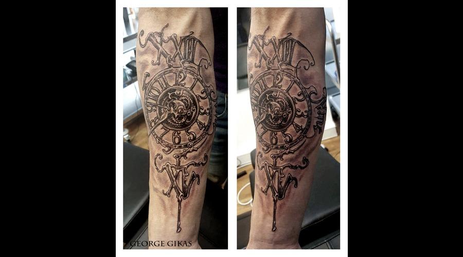 Steampunk  Clock Arm