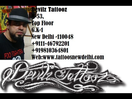 Tattoos India  Tattoos New Delhi  Tattoos Artists In Gurgaon Back
