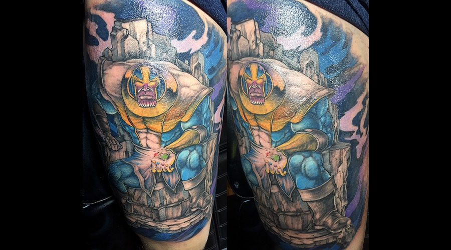 Thanos Color Thigh
