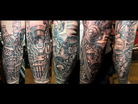 Mechanical 2 Black Grey Forearm
