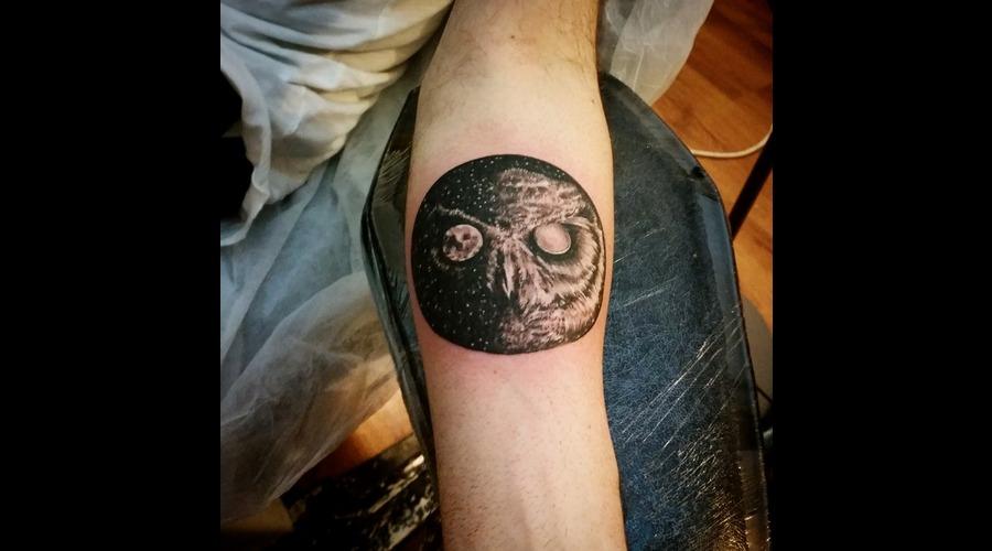 Owl Moon Arm
