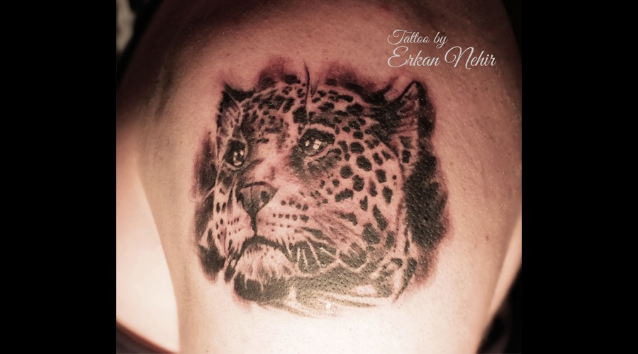 Leopard Cheetah Tattoo Tattoos Erkan Nehir Marmaris Shoulder