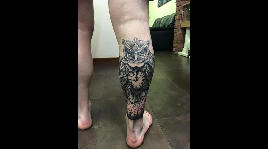 Owl Lower Leg