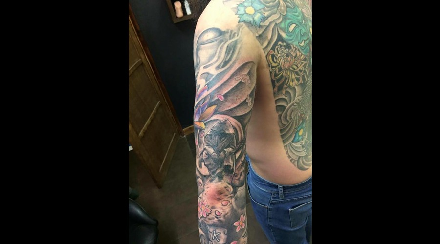 Oriental Sleeve Arm