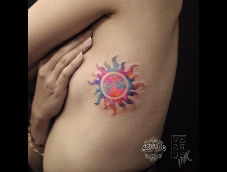 Watercolour  Geometry  Watercolor  Mandala  Art  Lace  Flower  Space  Uk Ribs