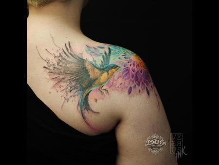 Watercolour  Geometry  Watercolor  Mandala  Art  Lace  Flower  Space  Uk Shoulder