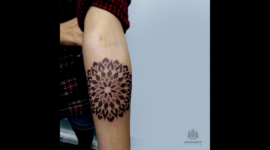 Dotwork Mandala Forearm