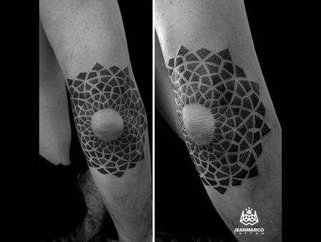 Dotwork Mandala Arm