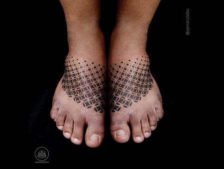 Dotwork Foot