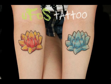Lotus Flower  Arm Color