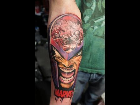 Magneto X Men Marvel Color