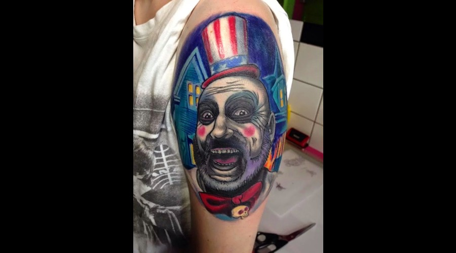 Captain Spaulding Color Arm