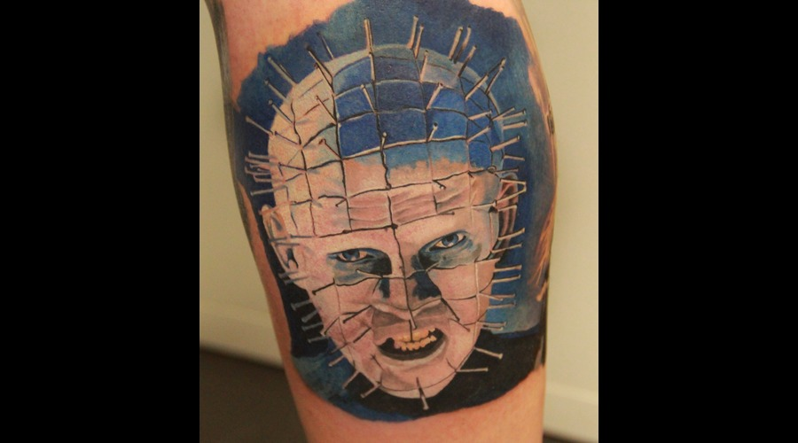 Pinhead  Pin  Head  Hellraiser  Film Color Lower Leg