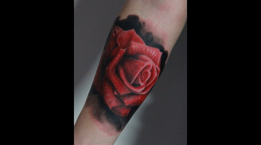 Rose   Color Forearm
