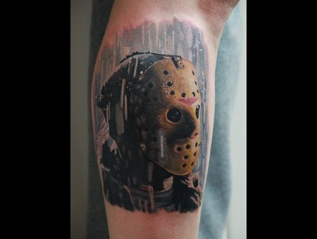 Jason  Friday  13th  Film Color Lower Leg