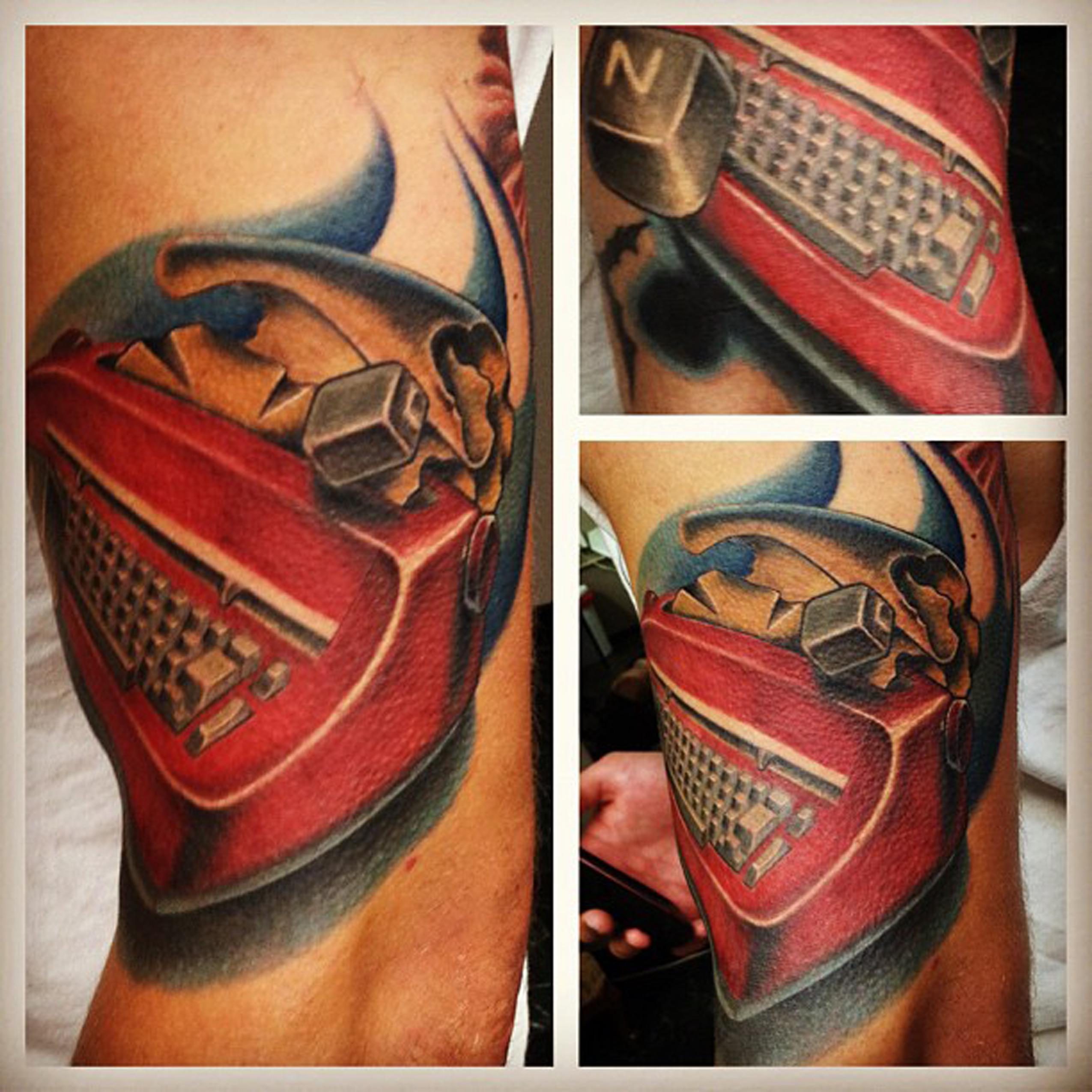 Timepiece tattoo panama city for Time piece tattoos