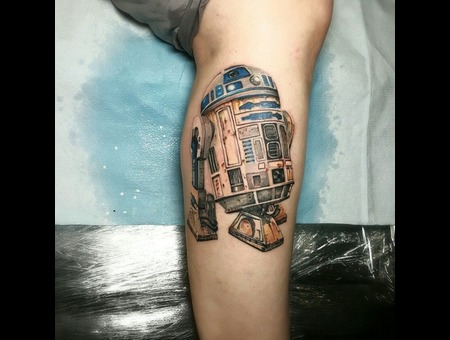 Starwars  R2d2  Jedi  Color Color Lower Leg