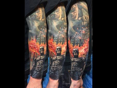 Tattoo  Art  Realistic Color Arm