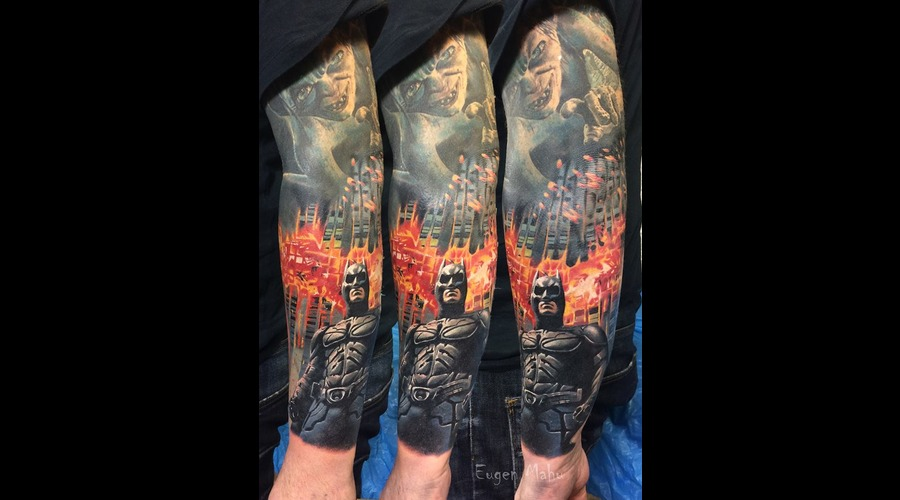 Tattoo  Art  Realistic Color Arm