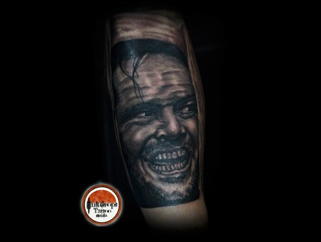 Johnny  Movie  The Shining Black Grey Forearm