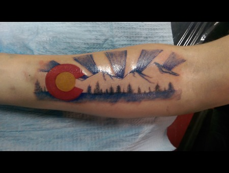 Colorado Custom Color Forearm