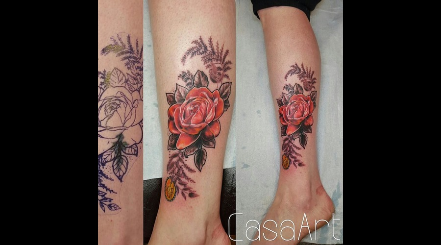 Color Lower Leg