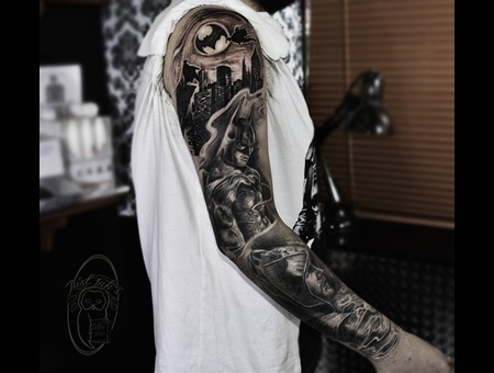 Dc Sleeve Black Grey