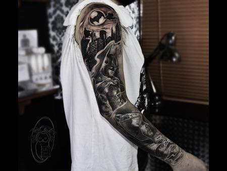 Dc Sleeve Black Grey