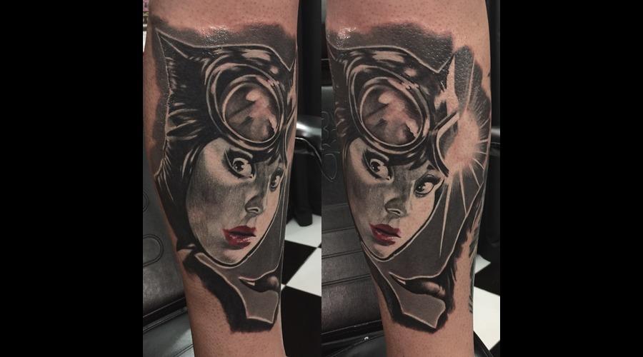 #Catwoman Black Grey