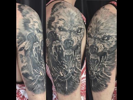 #Wolf  Black Grey