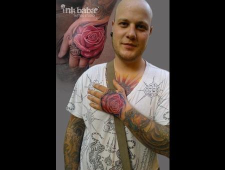 Rose Color Arm