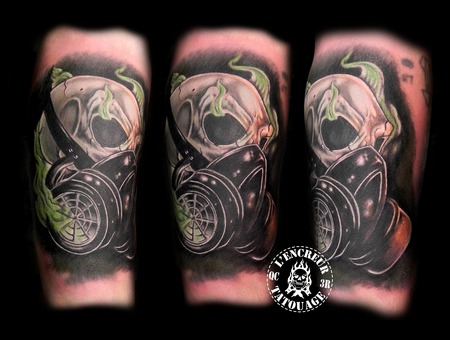 Gas Mask Color Arm