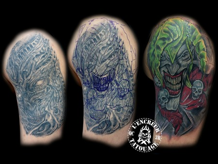 Cover Up  Joker Color Arm