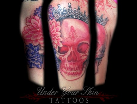 Pink Princess Skull Color Arm