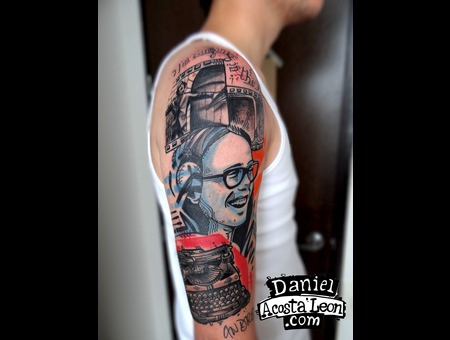 Andres Caicedo   Type Machine   Tattoo   Colombia   Bogota  Color