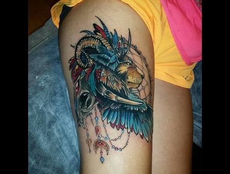 Lion Zodiac Berat Bumin Color Thigh
